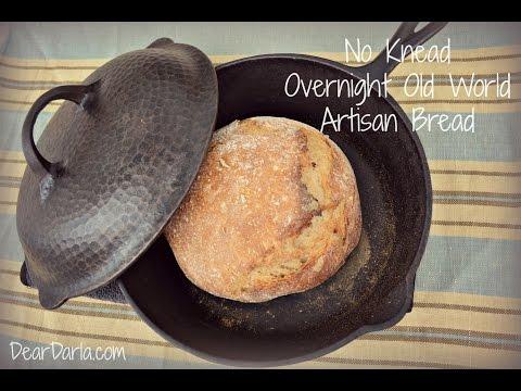 No Knead Overnight Rustic Bread