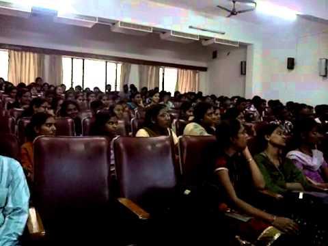 Seminar at Srinidhi college of Engineering