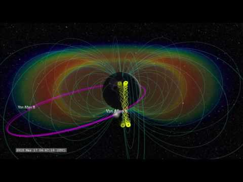 'Interplanetary Shock' In Earth's Magnetic Field Observed By Van Allen Probes | Video