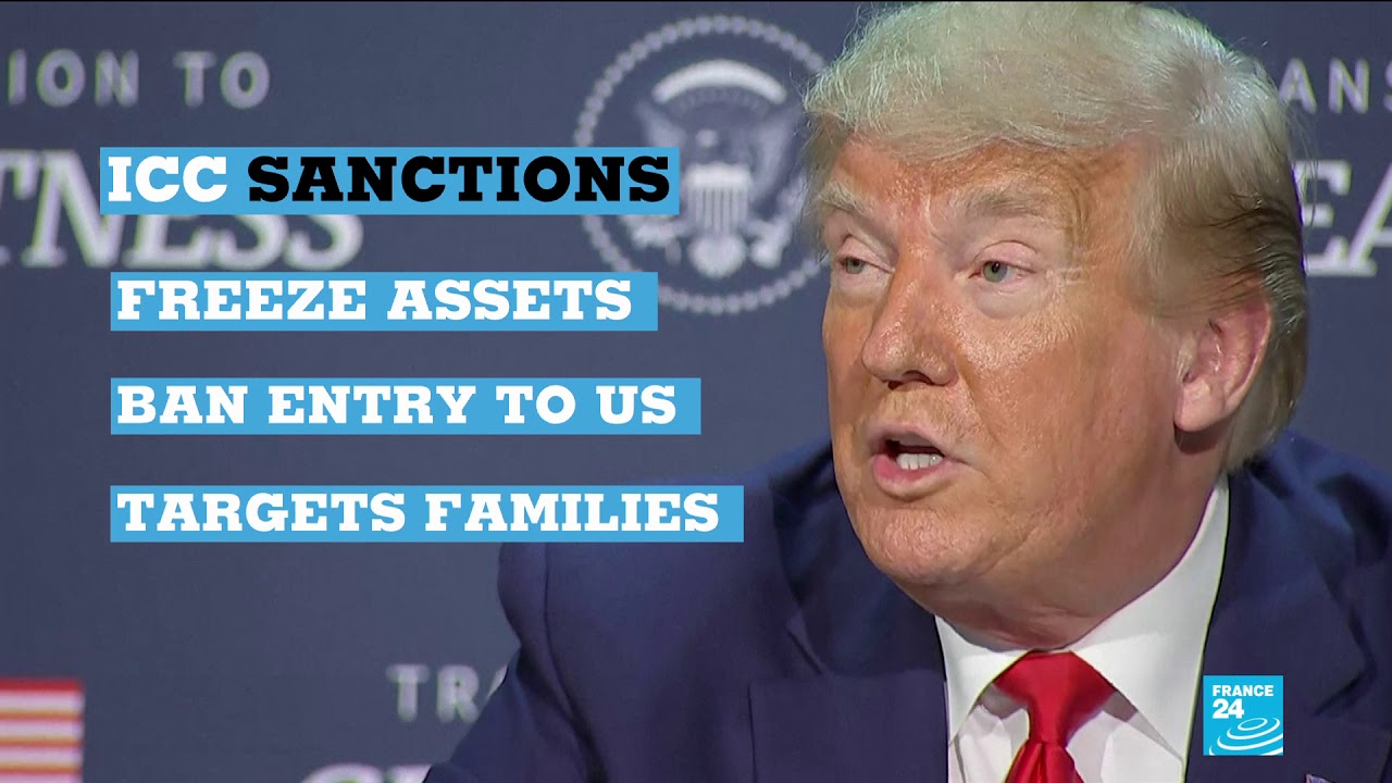 ICC responds to Trump Sanctions - YouTube