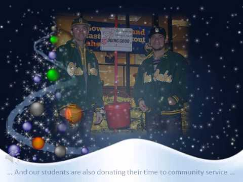 Glen Oaks Community College Holiday e-Card 2013