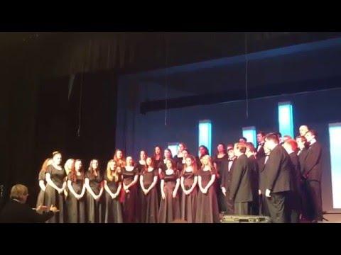 Lake Country Christian School Concert Choir, spring 2016