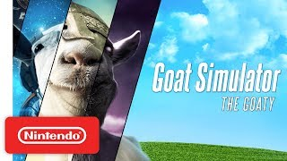 Goat Simulator: The GOATY - Launch Trailer - Nintendo Switch