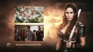 Меган Фокс в рекламе игры Stormfall: Rise of Balur!