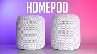 stereo paired homepods