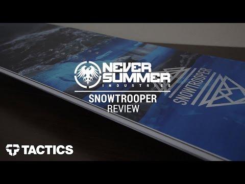Never Summer Snowtrooper 2017 Snowboard Review - Tactics.com