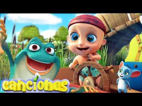 LooLoo – Cinco ranas verdes y moteadas -Cantece pentru copii in limba spaniola