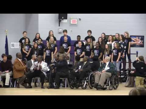 Banks Trail Middle School Honors the Friendship Nine with a commemorative assembly