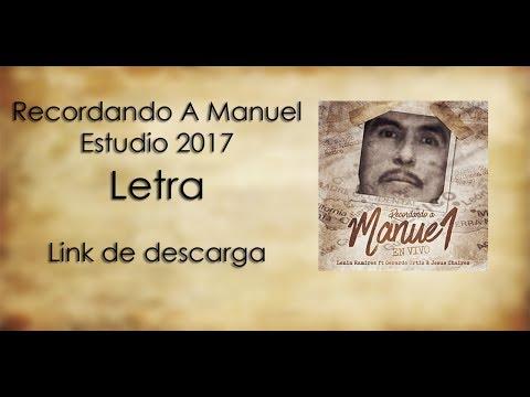 Download Recordando A Manuel [LETRA] Lenín Ramirez ft Gerardo Ortíz & Jesús Chairez