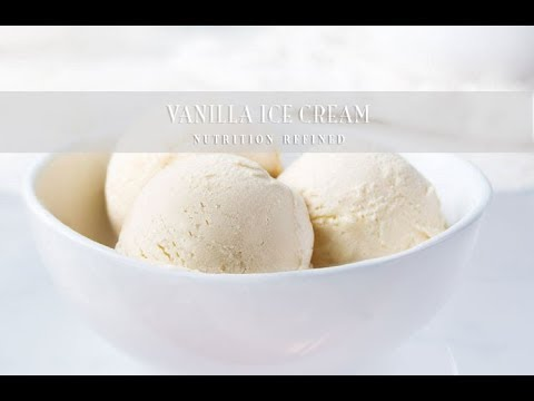 Vanilla Ice Cream | Raw, Vegan, Paleo