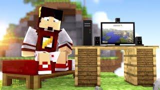 Minecraft: NÃO SEI GRAVAR  - BED WARS ‹ AMENIC ›