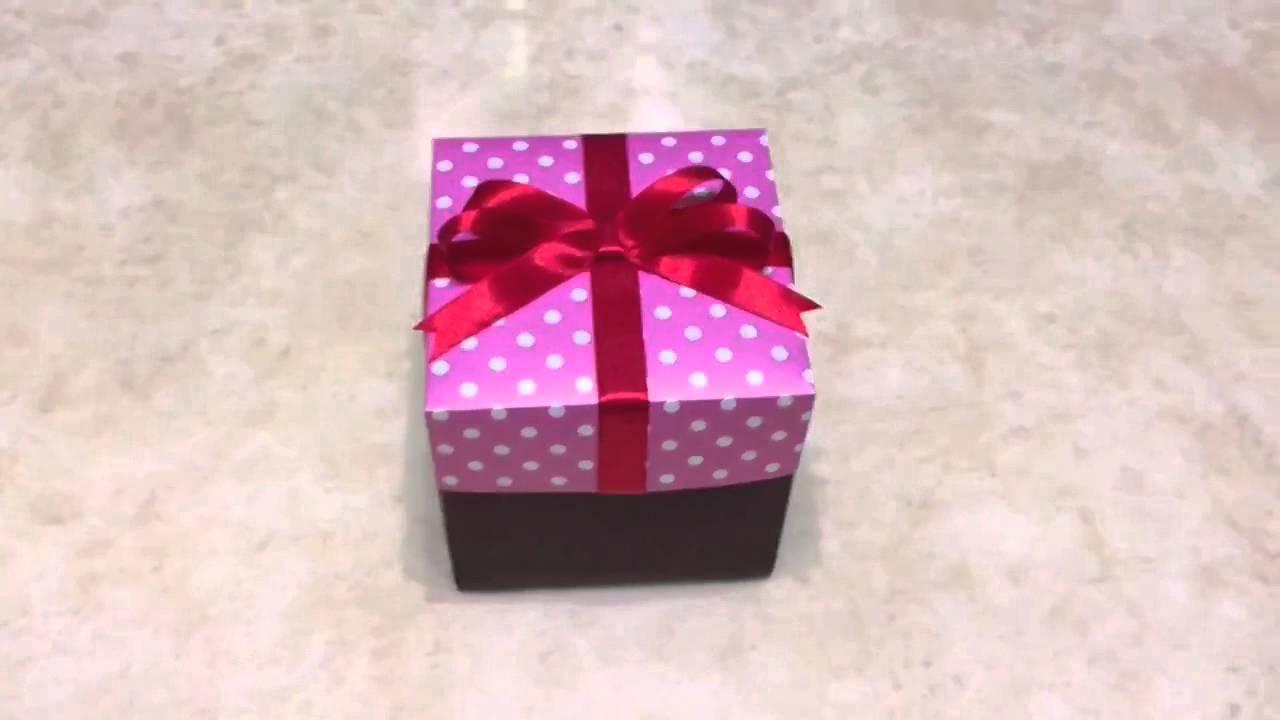 愛禮物 - 爆炸禮物盒外盒 - YouTube