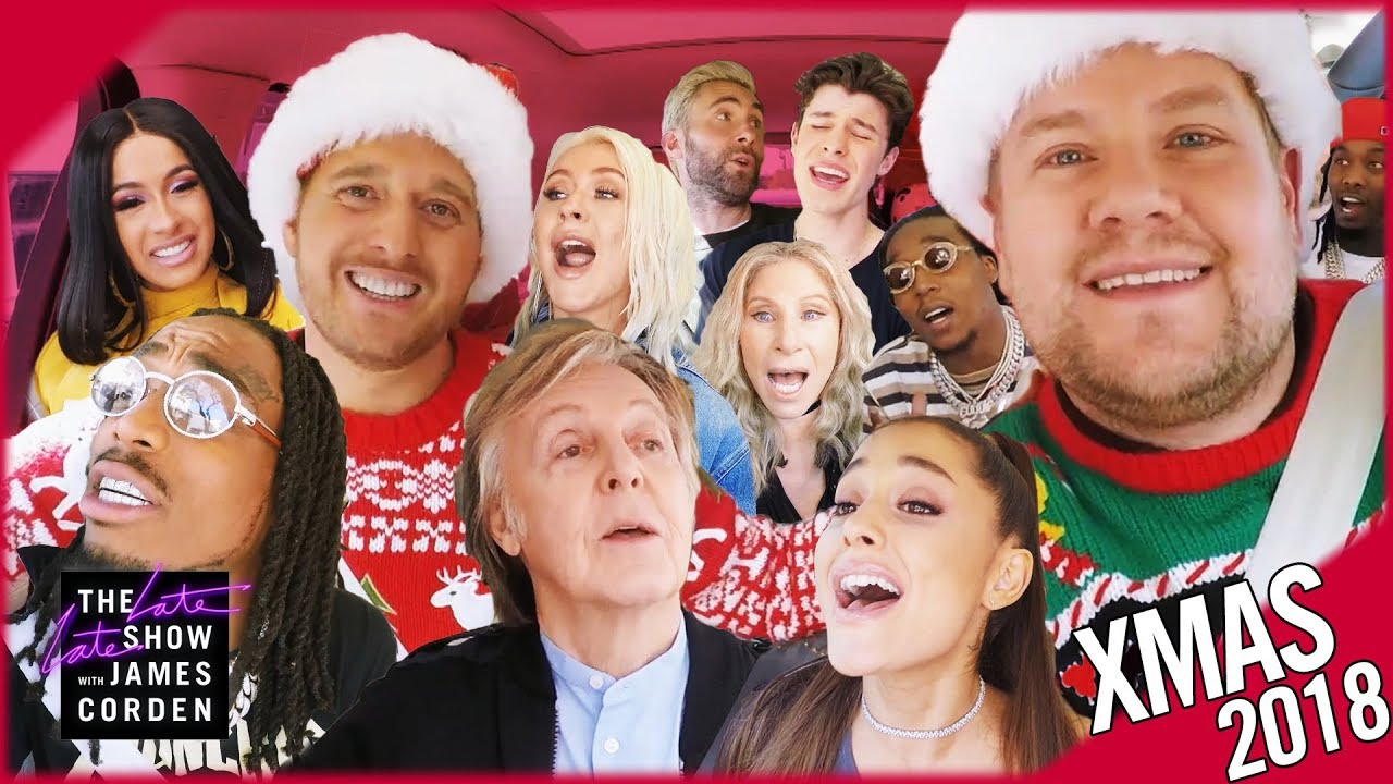 'Christmas (Baby Please Come Home)' Carpool Karaoke