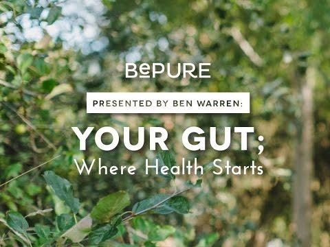 Gut Health - Ben Warren's top 10 tips for a healthy gut.