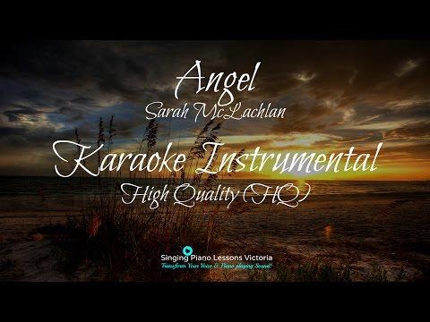 Angel Sarah McLachlan Karaoke Instrumental High Quality (HQ)
