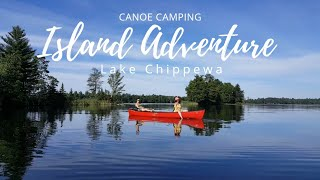 4 Day Canoe Camp on the Chippewa Flowage