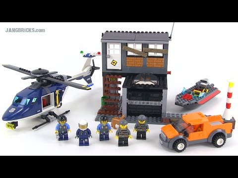 LEGO City 60009 Helicopter Arrest set Review! - YouTube