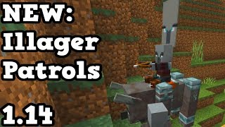 Minecraft 1.14 - NEW Illager Patrols + Block & BIG REVEAL