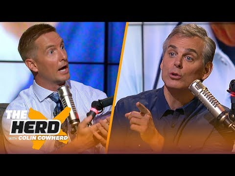 Joel Klatt and Colin Cowherd dislike an eight-team College Football Playoff format | CFB | THE HERD