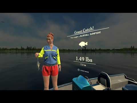 Rapala Fishing gameplay Xbox one