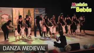 Danza Medieval - Los bebes de 1 año en el Festival Musizón
