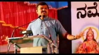 Chakravarthy Sulibele speech in Athani - NaMo Brigade Athani