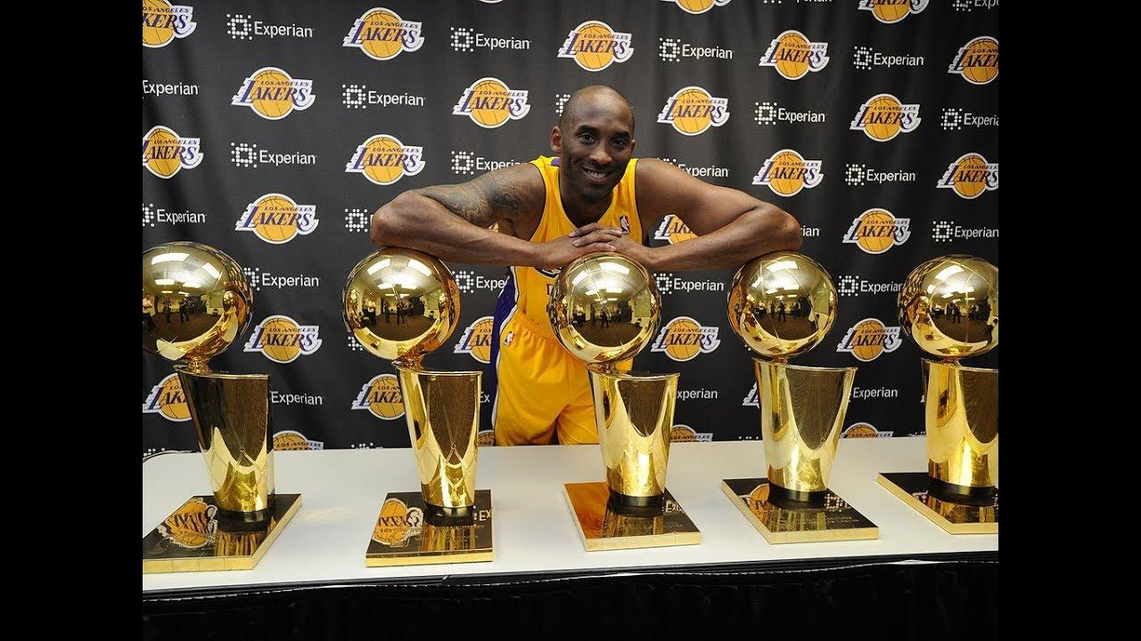 How Many Rings For Kobe