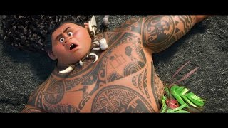 "Moana BONUS CLIP ""Gone Fishing"" - Maui & Moana"