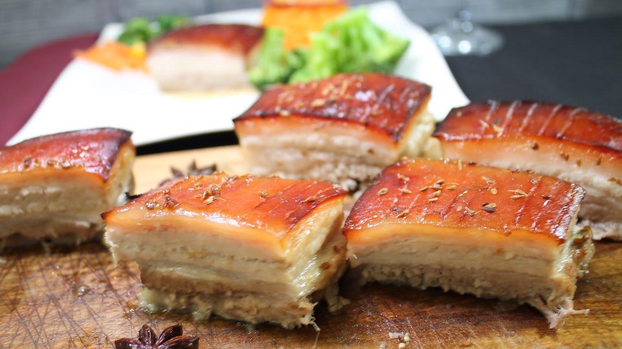 Fabuloso Barriga de porco no forno - YouTube PL35