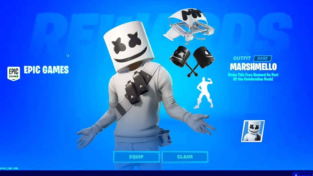 How To Get NEW MARSHMELLO BUNDLE (RELEASE DATE) Fortnite Marhmello Pack Back in Item Shop