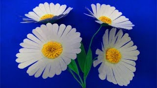 How to make paper flowers step by step | Aster amellus | Easy paper flowers