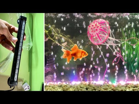 Aquarium Underwater Led Light With Air Bubbles