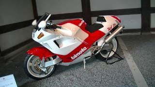 【スーパーバイク】二条城でBimota Tesi 1D 1991年