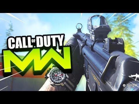 *MAX LEVEL* MODERN WARFARE MULTIPLAYER GAMEPLAY! (Modern Warfare BETA)