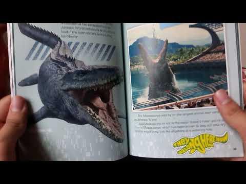 Dino Book Reviews |Jurassic World Fallen Kingdom Survival Guide