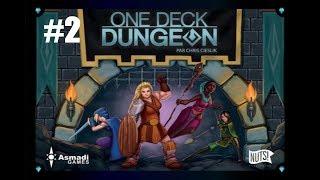#2/3 One Deck Dungeon - Partie rapide en solo !