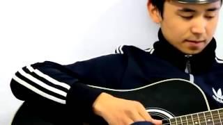 Мирбек Атабеков - Жаным гитара кавер