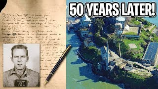 Prisoner who escaped from Alcatraz sends letter to the FBI 50 years later!