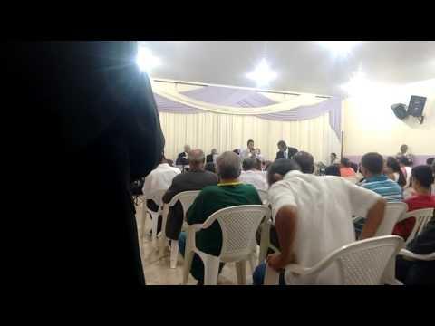Jovem lucas Emanuel  pregando a palavra  de Deus
