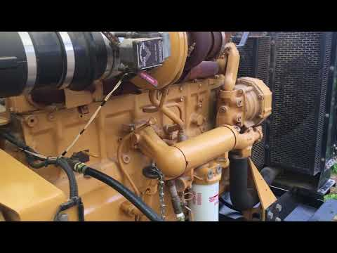 CAT 400KVA Engine Start in Libya