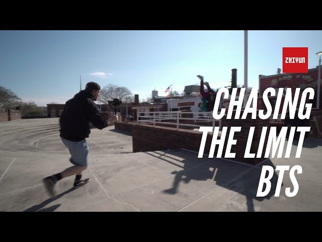 Chasing the Limit Behind the Scene | Zhiyun Crane Plus | Parkour | By Adventure Sports Media