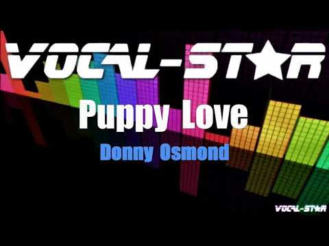 Donny Osmond - Puppy Love (Karaoke Version) With Lyrics HD Vocal-Star Karaoke