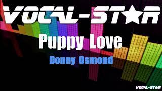 Donny Osmond - Puppy Love (Karaoke Version) with Lyrics HD Vocal-Star Karaoke