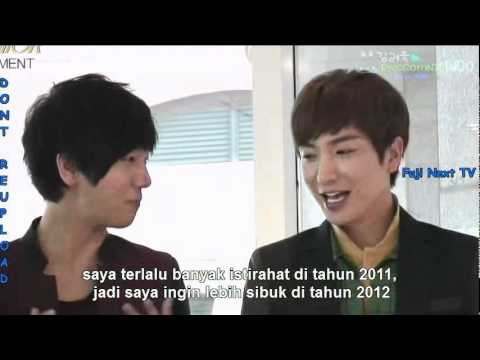[INDO SUB] 111202 FUJ1 N3XT TV (cut) - Super Junior
