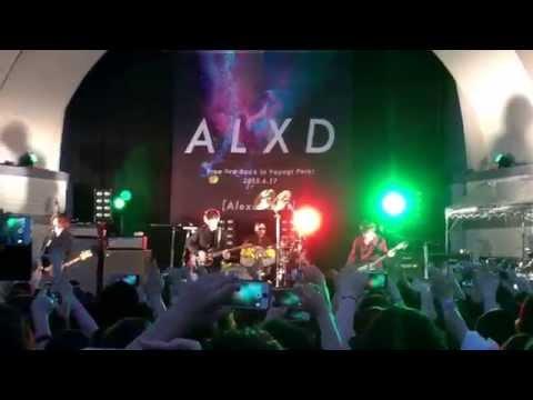 2015.6.17 [Alexandros] Dog3  代々木公園 フリーライブ