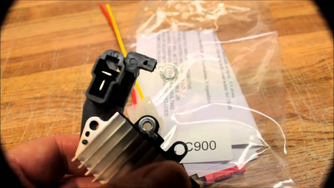 maxresdefault c900 alternator plug repair wire harness, replacement plug youtube Alternator Adapter Harness at creativeand.co