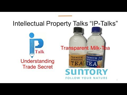 Tradesecret and Suntory's Transparent Milk Tea