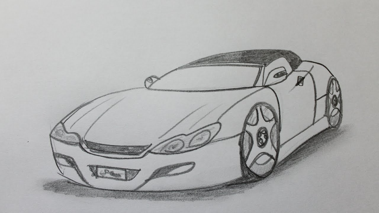 Comment dessiner une voiture youtube for Garage automobile qui fait credit
