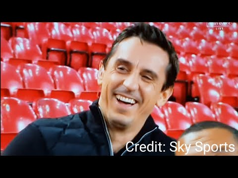 Gary Neville got RUINED Live on Sky Sports (by me)