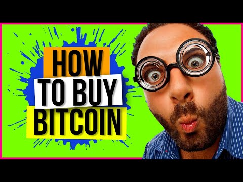 HOW TO BUY BITCOIN - Buying Bitcoin Online - Full Tutorial